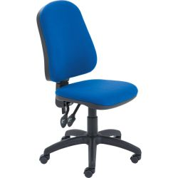 LincolnHBACK OPERATOR CHAIR ROYAL BLUE FABRIC