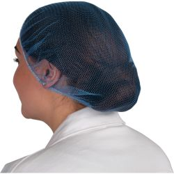 SitesafeBlue Disposable Hair Nets Pack of 100